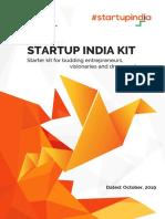 Startup India Kit