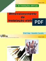 Dimensionamento Da Instalação Elétrica-Condutores, Disjuntores e Eletrodutos