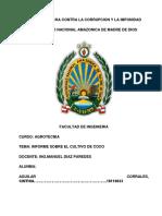 Enviar Informe Del Coco
