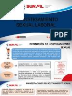 El Hostigamiento Sexual Laboral