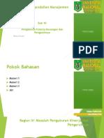 PPT SPM Bab 10 Pengukuran Kinerja Keuangan Dan Pengaruhnya
