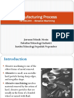Proses Manufaktur -Abrasive Process