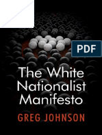 Greg Johnson - The White Nationalist Manifesto 2018 PDF