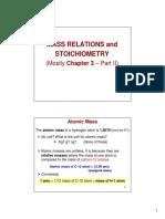 Ch3 Part 2 Stoichiometry