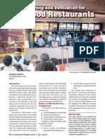 AC v for Fast Food Restaurants