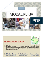 Manajemen Keuangan - Modal Kerja