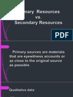 2. Primary vs. Secondary