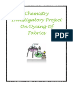 DocGo.net-Chemistry Investigatory Project on Dyeing of Fabrics for Class 12