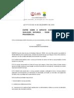 Lei Ordinária 8725 2003 de Belo Horizonte MG