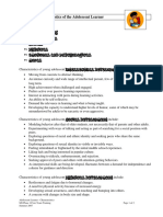 Characteristics of the Adolescent Learner