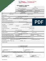 Form 785 Requerimiento Servicios POS