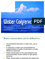 PPT on Water Conservation by Vishwajit Mitra