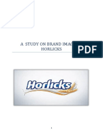 A Study on Brand Image of Horlicks and Bournivita