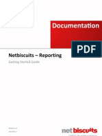 Net Biscuits - Reporting - Getting Started Guide V1.3