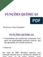 funções químicas ( ácido e base)