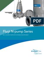 Fb002-896876 Flygt N-pump Series