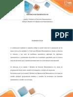 Post Tarea METODOS DETERMINISTICOS