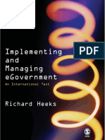 Prof Richard Heeks - Implementing and Managing eGovernment_ An International Text-Sage Publications Ltd (2005)
