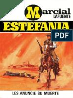 181 - M. L. Estefania - Les Anuncie Su Muerte