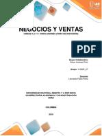 Negocios y Ventas Unidad 1,2 y 3 Conclusiones (Foro de Discusión)