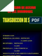 TRANSDUCCIÓN DE SEÑALES (3)
