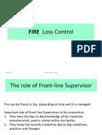 FIRE  Loss Control R1