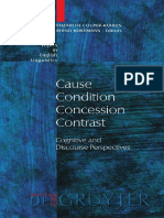 Elizabeth Couper-Kuhlen, Bernd Kortmann-Cause, Condition, Concession, Contrast_ Cognitive and Discourse Perspectives (Topics in English Linguistics, No 33) (2000).pdf