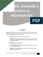 Logo, Atencion y Organizacion