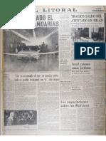 El Litoral Tunel 1969