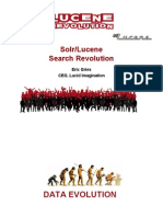 Solr and Lucene search revolution