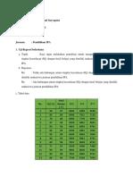 Uji Regresi Statistika Dasar IPA