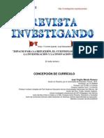 CONCEPCIÓN DE CURRÍCULO