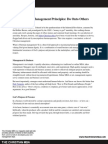 Christian Management Principles