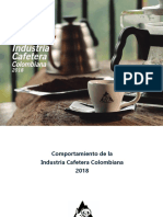 Informe Industria Cafetera Colombiana 2018