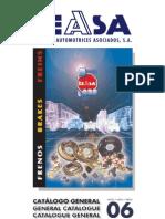 Catalogo Frenos TEASA