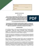 Decreto 456 de 2010 Alcaldia Bogota - Bodegas Reciclaje