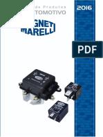 Magneti Marelli Catalogo Relé Automotivo 2016