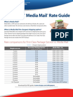Media Mail Rate Guide