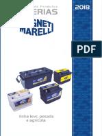 Magneti Marelli Catalogo Baterias 2018