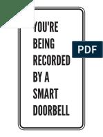Doorbell Sign 1