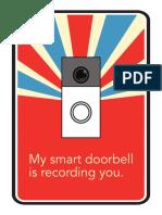 Doorbell Sign 3
