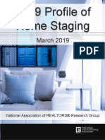 The Value of Staging Your Home - NAR Profile 2019 of Home Staging.