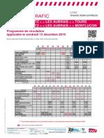 Info Trafic Axe q - Trains Region Centre-Val de Loire 13-12-2019