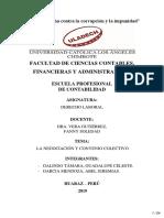 ACTIVIDAD 13 - LA NEGOCIACIÓN Y CONVENIO COLECTIVO