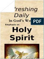 "Emphasis on ""Holy Spirit""   January 2020"