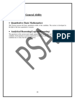 One Test General Ability Study Material