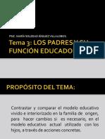 FUNCIONES EDUCADORAS