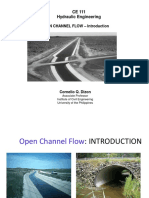 CE 111 - 01a - Open Channel Flow - Introduction