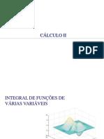 Integral de Funções de Várias Variáveis