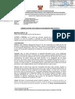 Resolución sobre Martín Belaunde Lossio